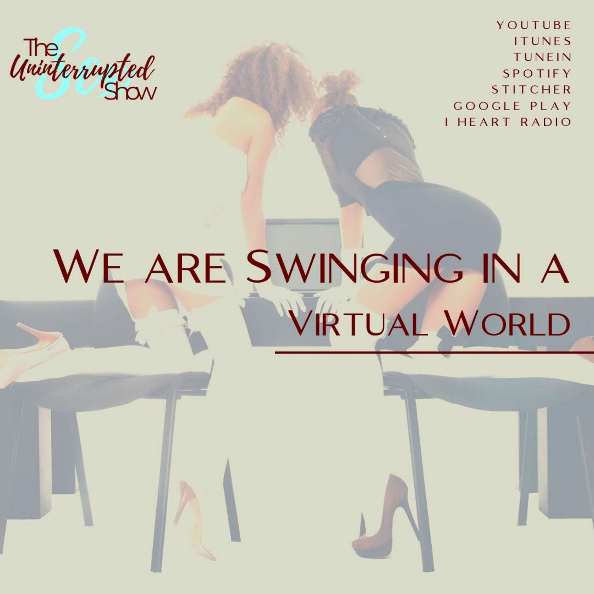 🎵We are Swinging in a virtual world🎵 At least a…