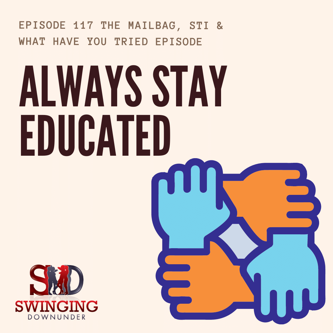 We answer your questions about the swinging lifestyle, want to know what we think about balancing the swinging lifestyle? What our swinging spirit animal is or how we tell people what kinds of swingers we are... listen in We spend a bit of time discussin...